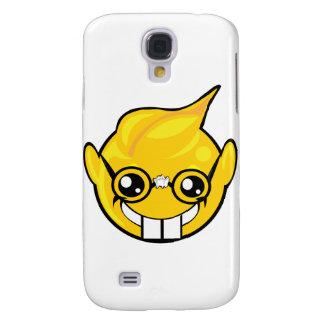 nerd smiley face galaxy s4 case