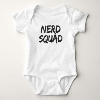 Nerd Squad Print Baby Bodysuit