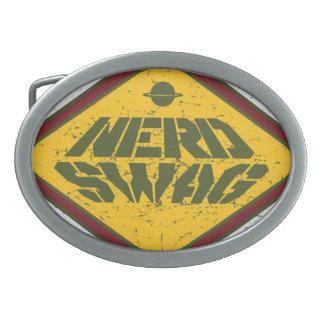 Nerd Swag UFO Belt Buckle