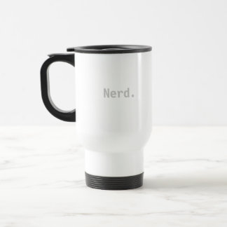 Nerd Travel Coffee Mug Cup