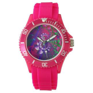Nerdberries Psychedelic Fractal Watch