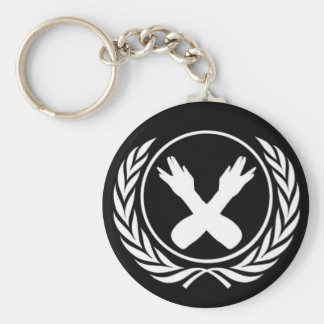Nerdfighter Seal Basic Round Button Keychain