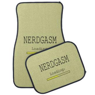 Nerdgasm Loading (with Data Bar) Car Floor Carpet