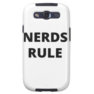 Nerds Rule Samsung Galaxy S3 Cases