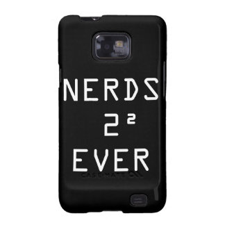 Nerds Two Squared 4 Ever Samsung Galaxy SII Cover