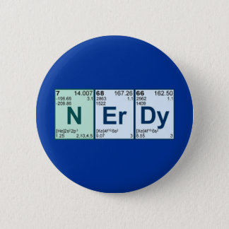 NErDy 2 Inch Round Button