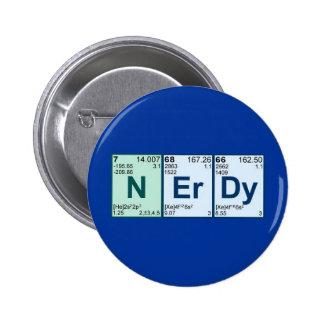 NErDy 2 Inch Round Button