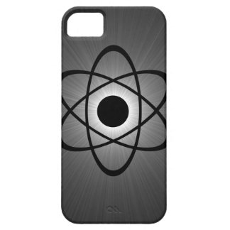 Nerdy Atomic BT iPhone 5 Case, Gray iPhone 5 Case
