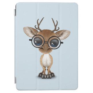 Nerdy Baby Deer Wearing Glasses iPad Air Cover
