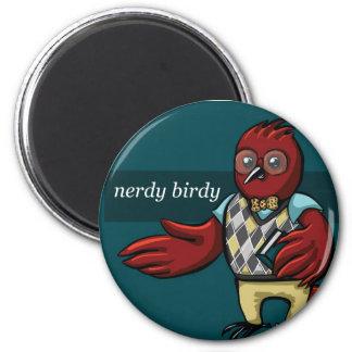 Nerdy Birdy Magnet