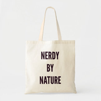Nerdy by nature funny Christmas Tote Bag
