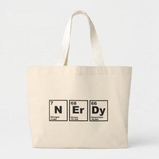 Nerdy Elements Jumbo Tote Bag