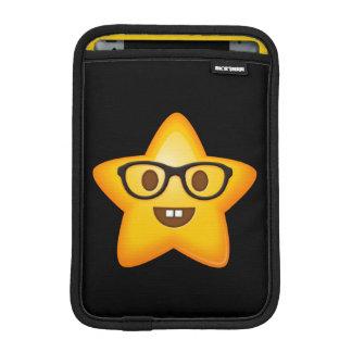 Nerdy Emoji Star iPad Mini Sleeve