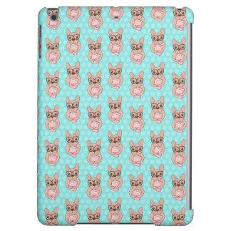 Nerdy French Bulldog iPad Air Case