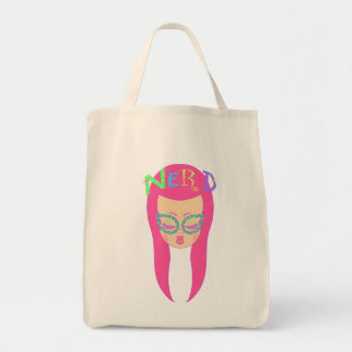 Nerdy Girl Tote Bag