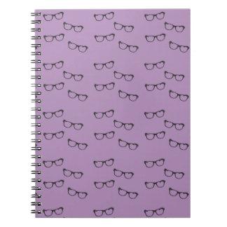 Nerdy Glasses Notebook