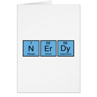 Nerdy Greeting Card