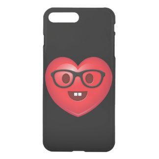 Nerdy Heart Emoji iPhone 8 Plus/7 Plus Case