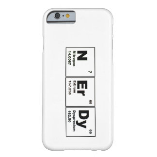 Nerdy iPhone 6 case Barely There iPhone 6 Case