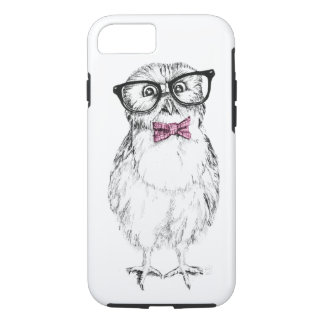 Nerdy owlet small but smart iPhone 7 case