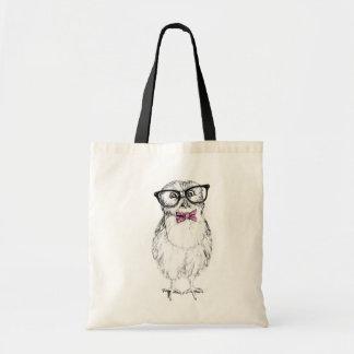 Nerdy Owlet Tote Bag