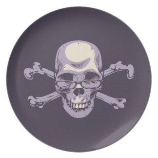 Nerdy Pirate Plate
