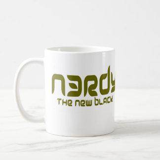 NERDY - THE NEW BLACK COFFEE MUG