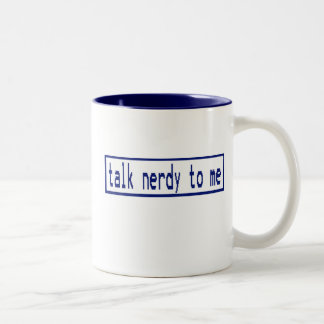 Nerdy Two-Tone Coffee Mug