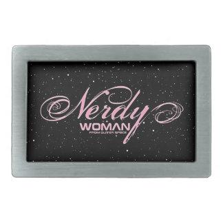 Nerdy Woman FOS Belt Buckles