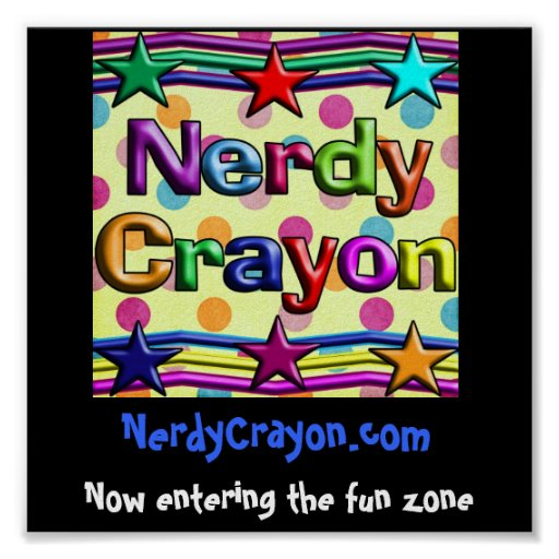 NerdyCrayon.com Poster