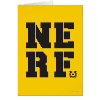 Nerf Block - Black Card