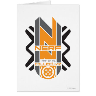 Nerf Collective - 1 Greeting Card