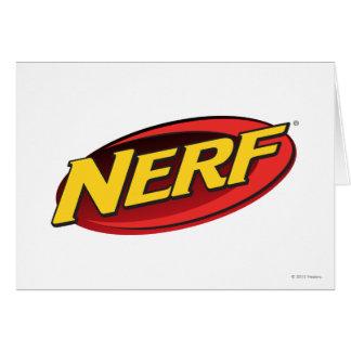 Nerf Logo Greeting Card