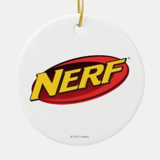Nerf Logo Ceramic Ornament