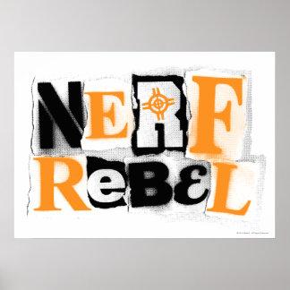 Nerf Rebel Poster