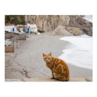 nerja malaga andalusia spain postcard
