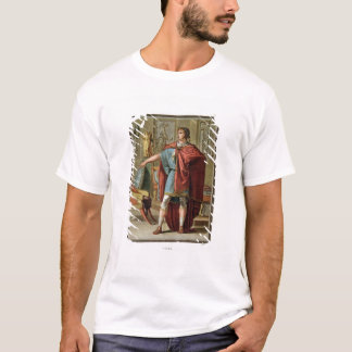 Nero, costume for 'Britannicus' by Jean Racine, fr T-Shirt