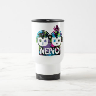 NERVO 15 OZ STAINLESS STEEL TRAVEL MUG