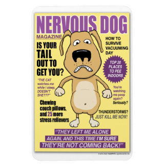 Nervous Dog Magazine 4'' x 6'' Photo Magnet
