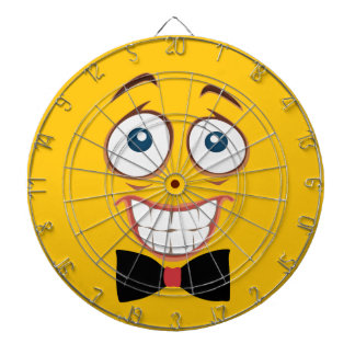 Nervous Emoji Dartboard