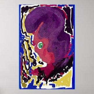 """""""nervous"""" Value Poster Paper (Matte) by RaineC"""