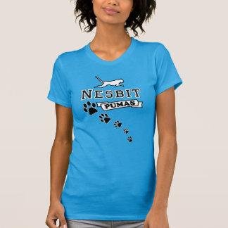 Nesbit Puma Women's Shirt (front & back design)