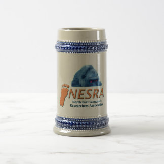 NESRA Custom Stein - Logo with Creature