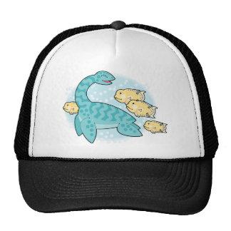nessie and friends trucker hat