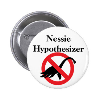Nessie Hypothesizer 2 Inch Round Button