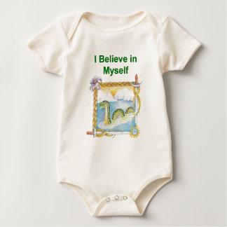 Nessie - I Believe in Myself Baby Bodysuit