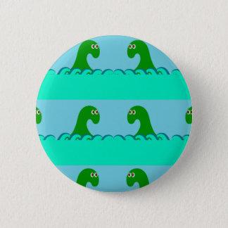 Nessie Pattern 2 Inch Round Button