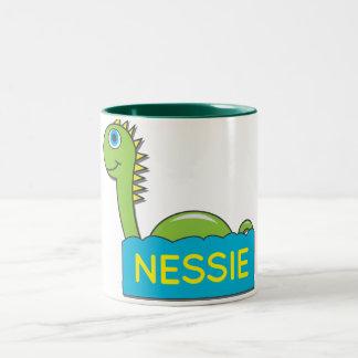 Nessie Two-Tone Coffee Mug