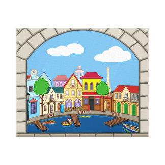 Nessie's Harbour Canvas Print