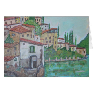 Nesso at Lake of Como Card